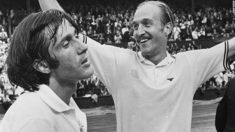 American Stan Smith won the first tournament in 1970, while his beaten opponent in the 1972 Wimbledon final Ilie Nastase claimed the next three titles.