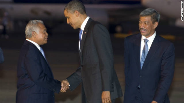 Obama looks to Asia for economic goals