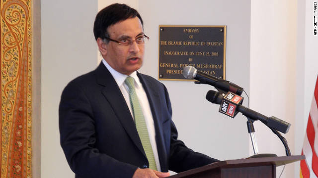 Pakistan's prime minister asked his country's ambassador to the United States, Husain Haqqani, to resign.
