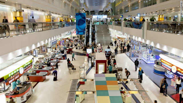 The 8 germiest places in the mall