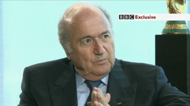 Sorry Blatter refuses to quit