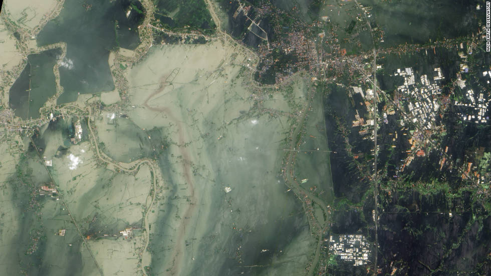 "The <a href=""http://edition.cnn.com/2011/11/03/world/asia/thailand-floods-before-after/index.html"">historic city of Ayutthaya</a> was founded in the 14th century on the confluence of three rivers -- the Chao Phraya, the Lopburi and the Pasak. In late October they combined to inundate the city and surrounding farmland. Above average rainfall during June to September's monsoon period was recorded through large parts of southeast Asia, according to the WMO."