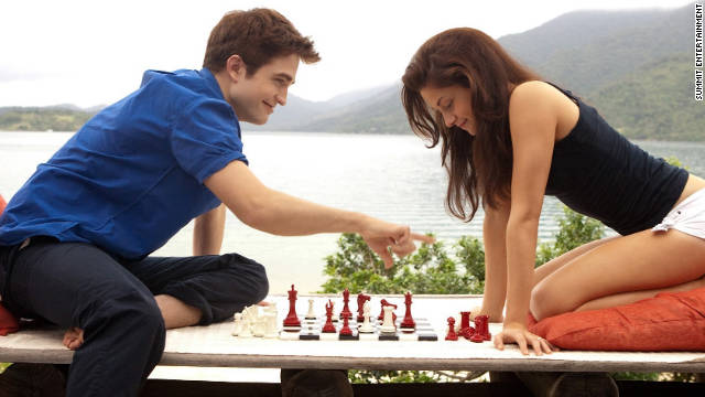 """Breaking Dawn -- Part 1"" marks the beginning of the end for Bella (Kristen Stewart) and Edward (Robert Pattinson)."