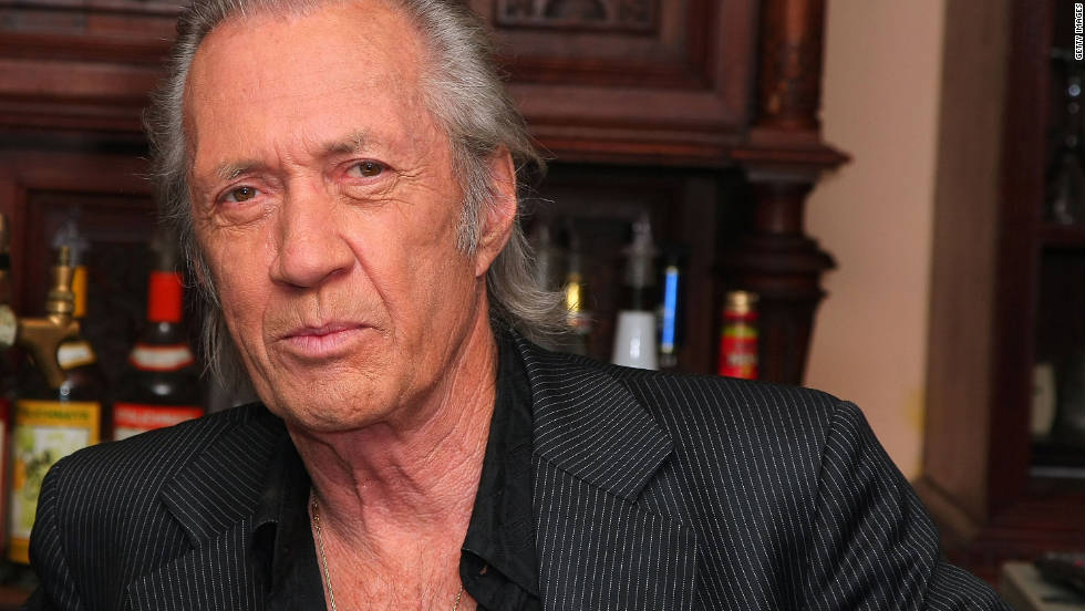 "The body of ""Kill Bill"" actor David Carradine was found hanged in a Bangkok hotel room closet on June 4, 2009. He died at the age of 72. At first, officials ruled his death a suicide. They later said he died from accidental  asphyxiation."