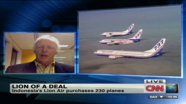 A Lion of a deal for Boeing
