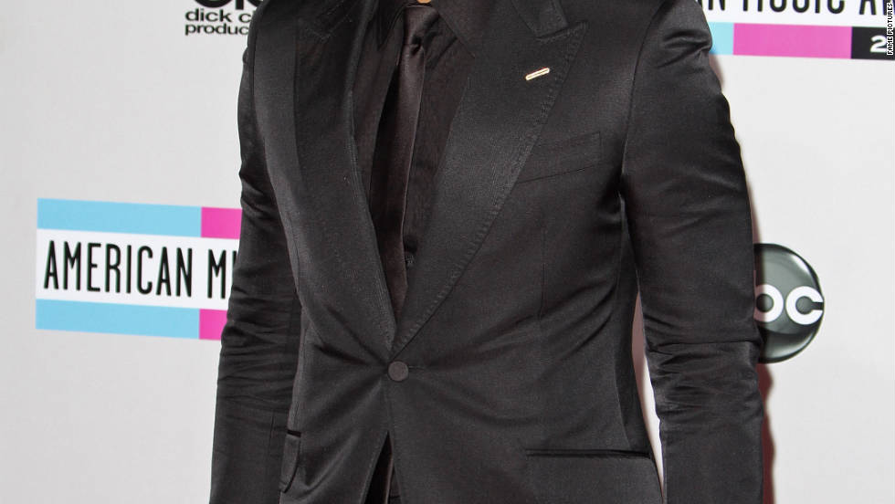 John Legend attends the American Music Awards in Los Angeles.