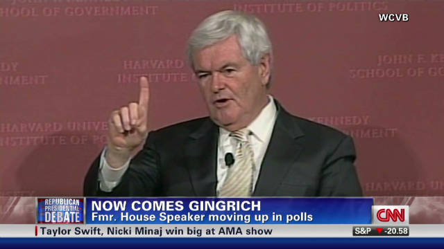 Gingrich surges despite criticism