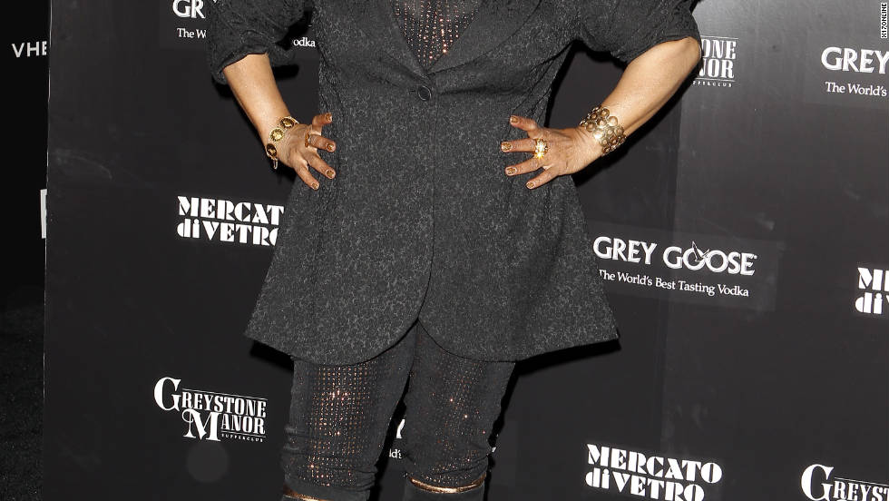 Chaka Khan attends an after party in Los Angeles.