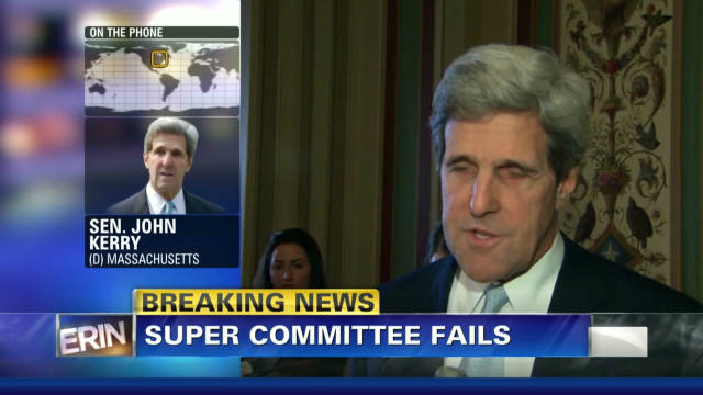 Sen. Kerry: Job didn't get done