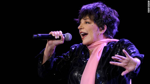 Liza Minnelli performs during the 45th Montreux Jazz Festival on July 15, 2011 in Montreux