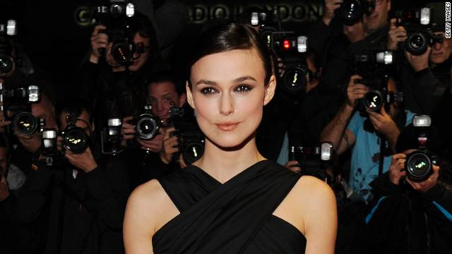 "Keira Knightley attended the U.K. premiere of ""A Dangerous Method"" in October."
