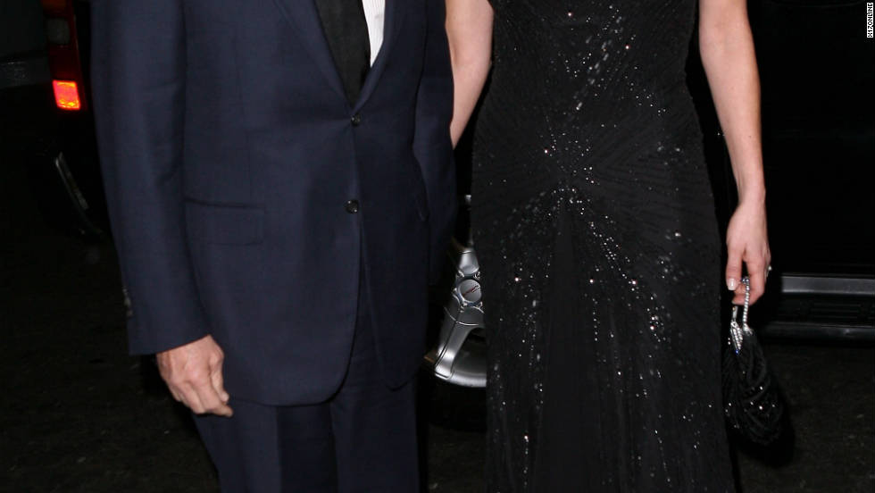 Michael Douglas and Catherine Zeta-Jones attend a charity event in New York City.