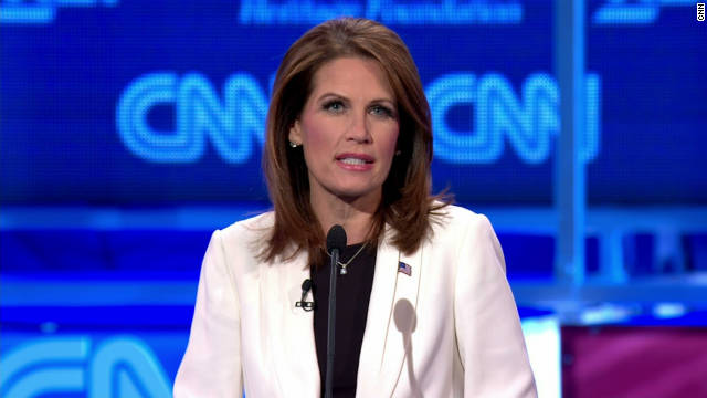 Rep. Michele Bachmann made a number of unsubstantiated claims in Tuesday's CNN debate, says John Avlon.