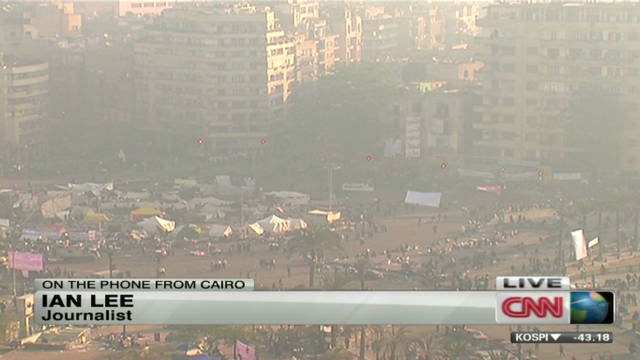 More violent clashes in Tahrir Square