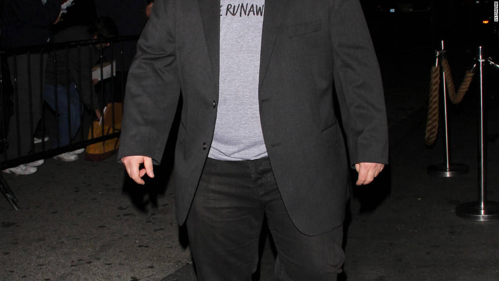 "Chaz Bono attends the ""Dancing With the Stars"" after party in Los Angeles."