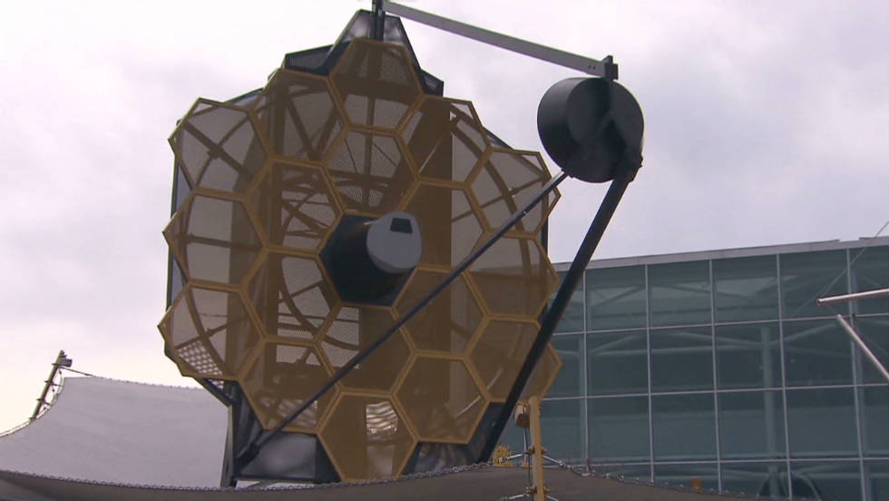 A telescope designed to look back in time