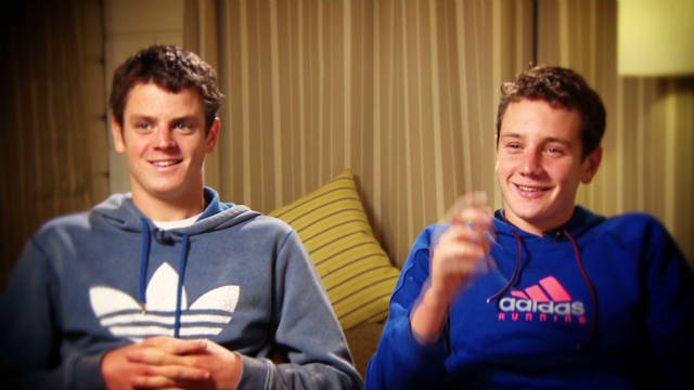Brownlee Brothers' quickfire questions