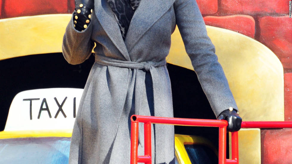Mary J. Blige participates in the Macy's Thanksgiving Day parade in New York City.