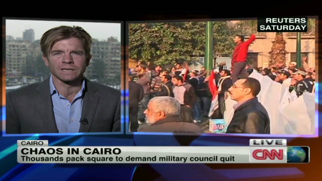 Chaos in Cairo ahead of elections