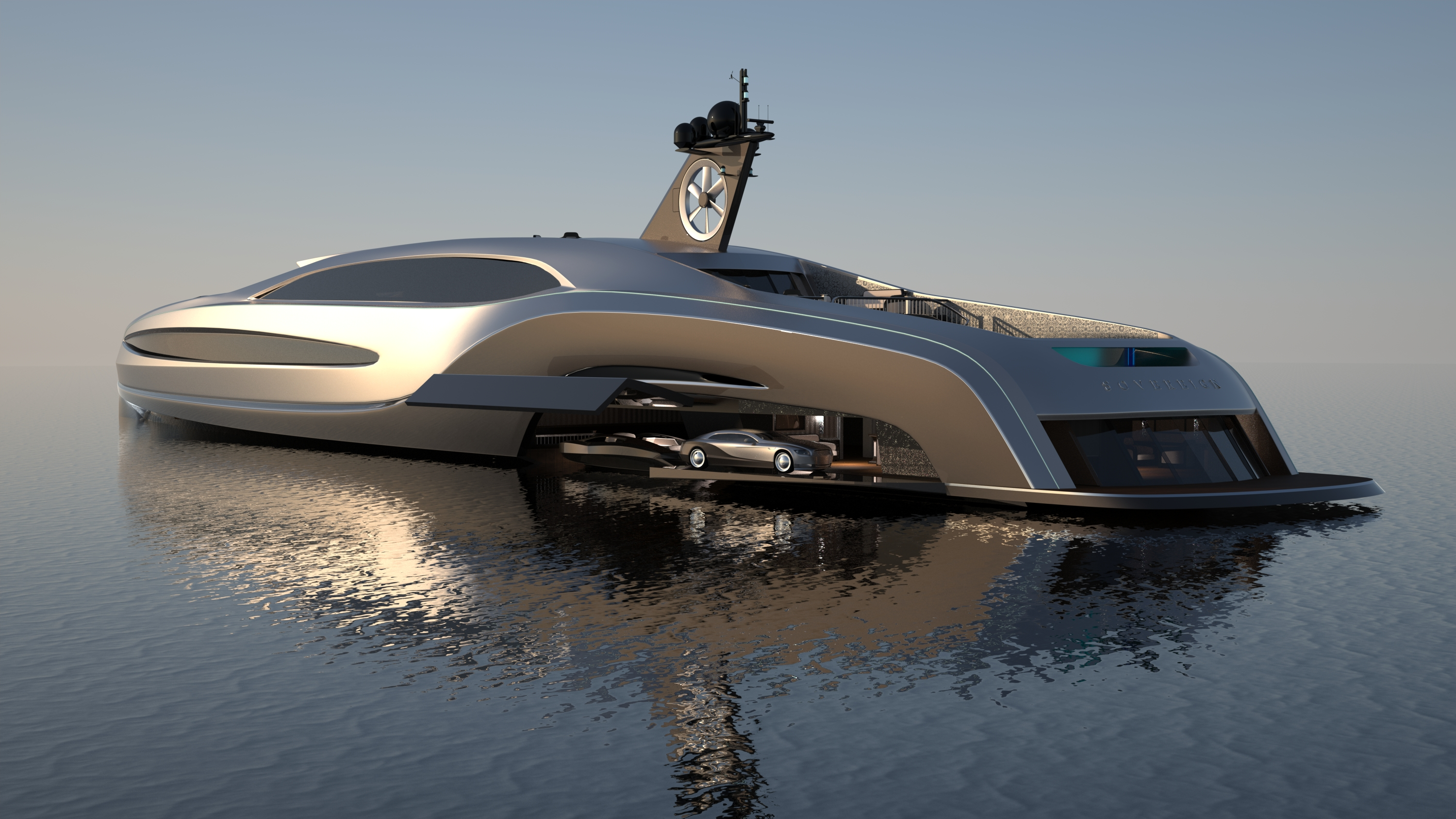 Sovereign The Limousine Shaped Superyacht Fit For A King Cnn Travel