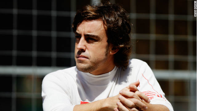 Ferrari's Fernando Alonso finished fourth in this season's Formula One drivers' championship.