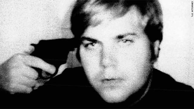 John Hinckley Jr. took this photo of himself playing Russian roulette shortly before his arrest.