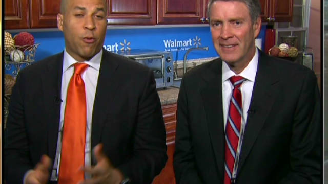 Booker, Frist fight childhood obesity