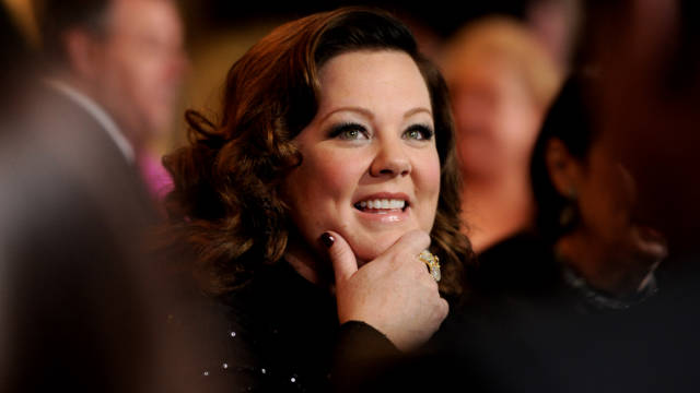 """I still worry about it, but ... I've got a great husband, and I go to work every day and do what I want,"" Melissa McCarthy says."
