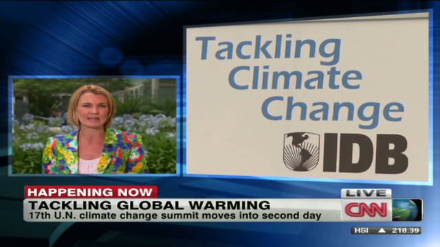 Seeking a solution to global warming