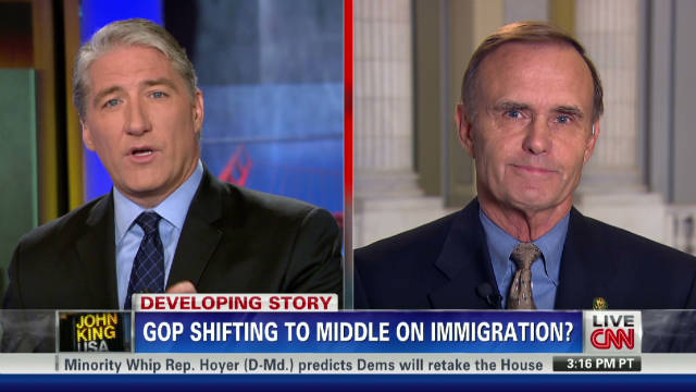Is the GOP shifting on immigration?