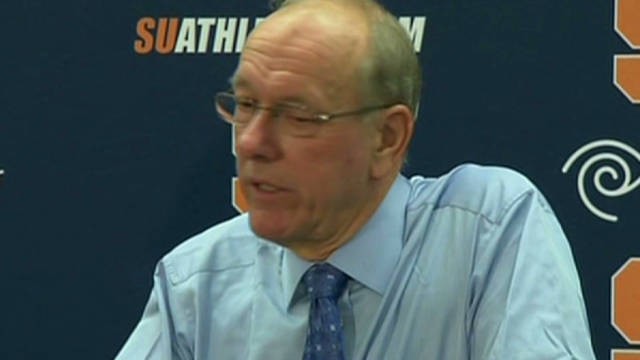 Boeheim changes tone on Bernie Fine case