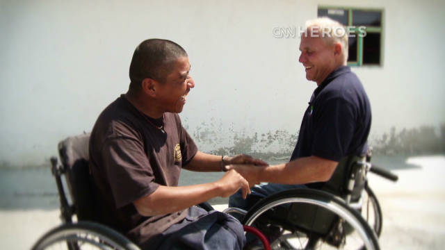 Hero gives mobility, hope to disabled