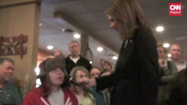 Teen vs. Bachmann on same-sex marriage