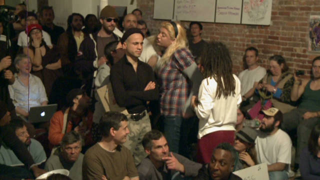 Inside an Occupy planning meeting
