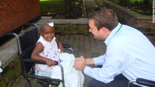 Priscilla was diagnosed with a brain tumor three years ago, but she is now thriving thanks to donated medical supplies.