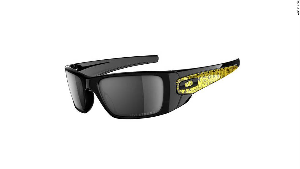 "These special-edition <a href=""http://www.oakley.com/products/6528?promotion_id=6&cm_mmc=google-semsearch-_-Brand-Products-Men-Sunglasses-_-Fuel-Cell-Livestrong-_-oakley%20livestrong%20fuel%20cell%20sunglasses"" target=""_blank"">Oakley sunglasses </a>not only block all UVA, UVB and UVC rays, $20 from each purchase goes to the Lance Armstrong Foundation, a nonprofit organization that supports those affected by cancer."