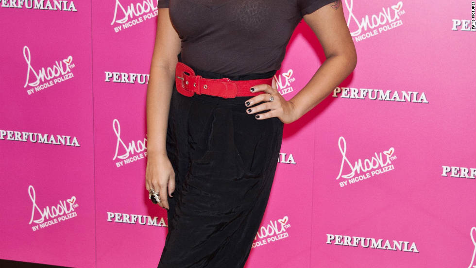 Snooki promotes her new fragrance in Elizabeth, New Jersey.