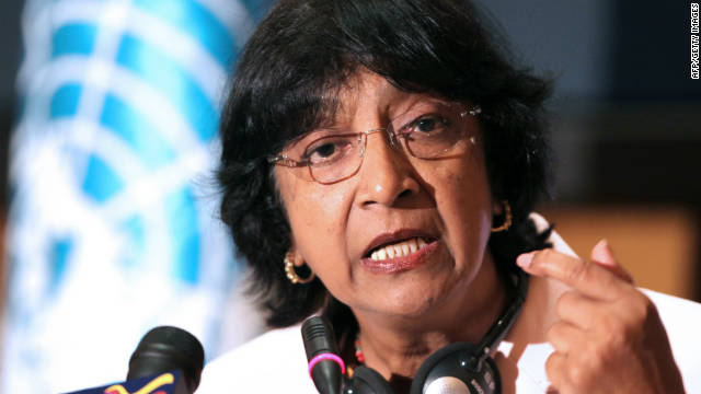 U.N. Commissioner Navi Pillay said existing or proposed laws and regulations in eight countries threaten to shut down NGOs.
