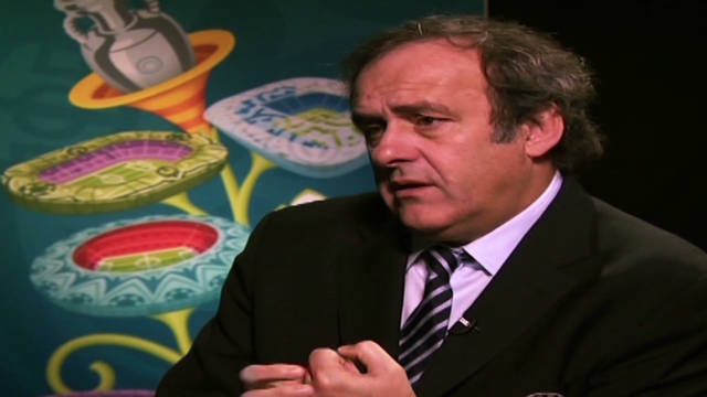 Platini: Blatter racism claims 'clumsy'