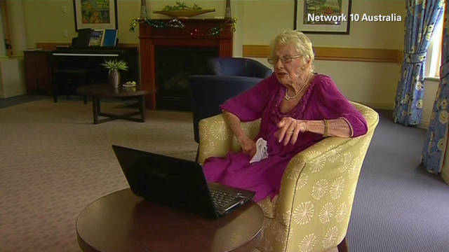 101-year-old Facebook user