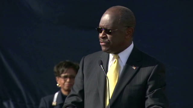 Herman Cain: make this order to go