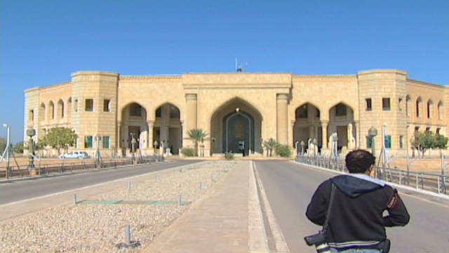 What to do with Saddam's palaces?