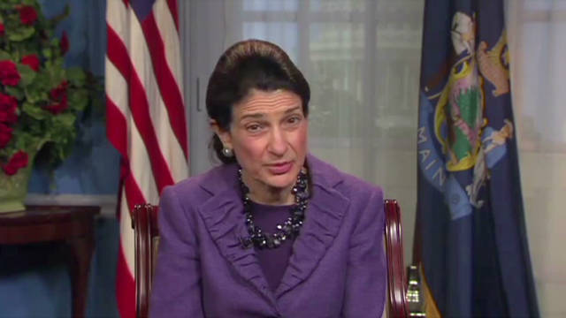 Snowe: A balanced budget is 'no gimmick'
