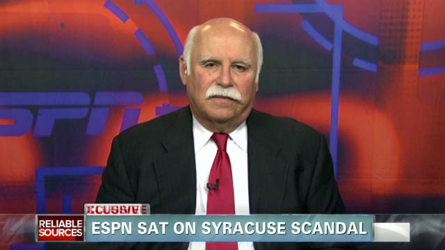 ESPN sat on Syracuse scandal