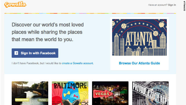 Gowalla will probably not be around for much longer, if reports are accurate that it's been bought by Facebook.
