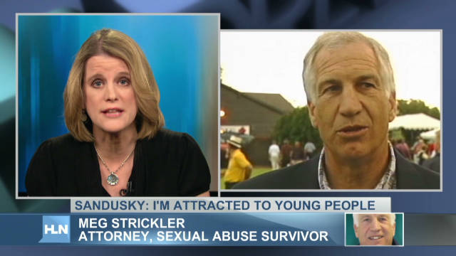Sandusky: I'm attracted to young people