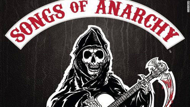 """Sons of Anarchy"" producers have waited four seasons to release the soundtrack, ""Songs of Anarchy."""