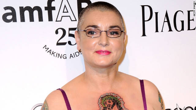 Sinead O'Connor married Barry Herridge, her fourth husband, after a whirlwind romance.