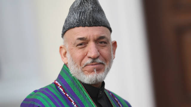 Afghan President Hamid Harzai (pictured) and UK Prime Minister David Cameron signed a long-term agreement on Afghanistan.