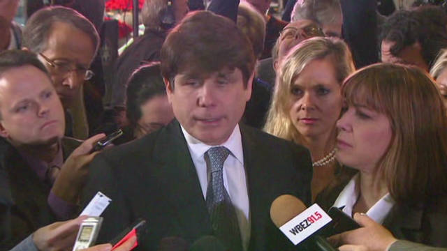 Blagojevich: Time to be strong